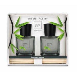ipuro black bamboo gift set